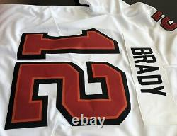 Tom Brady Tampa Bay Buccaneers Nike Limited Vapor Untouchable White Jersey Med