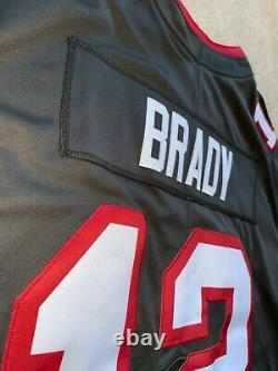 Tom Brady Tampa Bay Buccaneers Pewter Vapor LIMITED AUTHENTIC Jersey Super Bowl