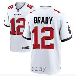 Tom Brady Tampa Bay Buccaneers Signed Super Bowl LV Champs Jersey LV CHAMPS