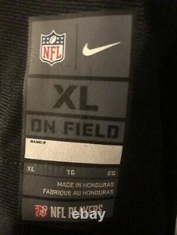 Tom Brady Tampa Bay Buccaneers Super Bowl LV 55 Nike Black Jersey Size XL New