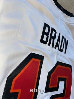 Tom Brady Tampa Bay Buccaneers White Vapor LIMITED AUTHENTIC Jersey Super Bowl
