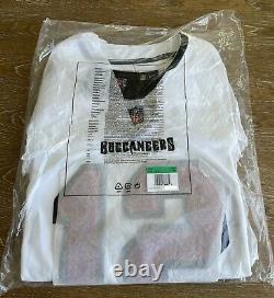 Tom Brady Tampa Bay Buccaneers White Vapor Limited Jersey