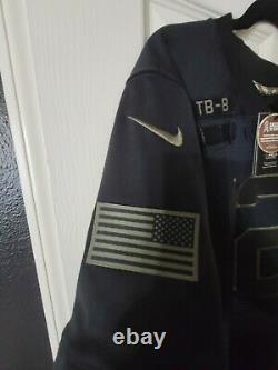 Tom Brady Tampa Bay Bucs 2020 Salute To Service Limited Jersey Black