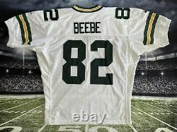 VERY RARE Authentic Nike Pro Line Don Beebe #82 Green Bay Packers Jersey 52