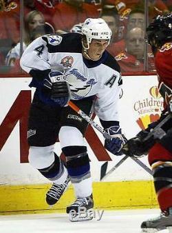 VINCENT LECAVALIER Tampa Bay Lightning 2004 CCM Throwback Away NHL Hockey Jersey