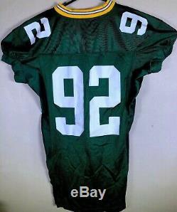 VTG Green Bay Packers Ripon Football Practice SAMPLE 92 Jersey Reggie White NWOT
