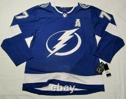 Victor HEDMAN size 54 = XL Tampa Bay Lightning ADIDAS hockey jersey PRO CUSTOM