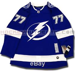 Victor Hedman Tampa Bay Lightning Home Authentic Pro Adidas NHL Jersey