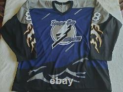 Vincent Lecavalier Tampa Bay Storm Style jersey XXL