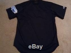 Vintage 1998 Majestic Tampa Bay Devil Rays Authentic Inaugural Batting BP Jersey