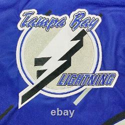 Vtg Rare Tampa Bay Lightning 3rd Alternate #77 Gratton Hockey Jersey. Mens XL