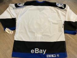 Vtg Tampa Bay Lightning CCM Authentic Jersey 52 XL NWT NHL Blank Center Ice 2000