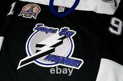 Vtg-men-nwt-sm Brad Richards Tampa Bay Lightning 2004 Cup Patch NHL CCM Jersey