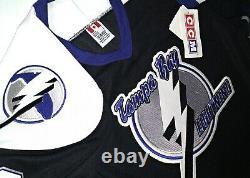 Vtg-nos-men-nwt-sm Victor Hedman Tampa Bay Lightning CCM NHL Hockey Jersey
