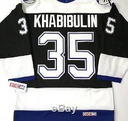 Vtg-nwt-sm Nikolai Khabibulin Tampa Bay Lightning 2004 Cup Patch NHL CCM Jersey