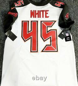 White-pro-48 Devin White Tampa Bay Buccaneers Sleeve Authentic NFL Nike Jersey